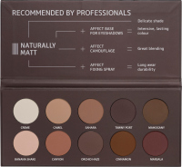 AFFECT - PRESSED EYESHADOWS PALETTE - NATURALLY MATTE