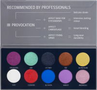 AFFECT - PRESSED EYESHADOWS PALETTE - PROVOCATION