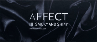 AFFECT - PRESSED EYESHADOWS PALETTE - SMOKY AND SHINY MARK