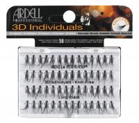 ARDELL - 3D Individuals - Clumps of false eyelashes - LONG BLACK - LONG BLACK