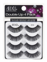 ARDELL - Double Up 4 Pack - Set of 4 pairs of lashes on a strip - 204 - 204