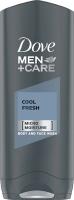 Dove - Men+Care - Cool Fresh - Body and Face Wash - Żel pod prysznic do mycia ciała i twarzy dla mężczyzn - 400 ml