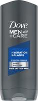 Dove - Men+Care - Hydration Balance - Body and Face Wash - Żel pod prysznic do mycia ciała i twarzy dla mężczyzn - 400 ml