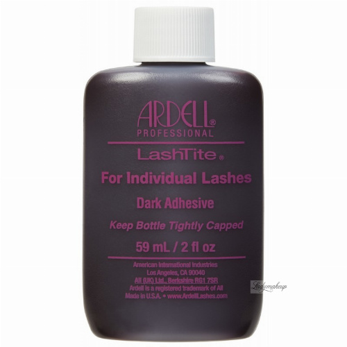 ARDELL - LashTite For Individual Lashes - Lash Adhesive - DARK - 59 ml