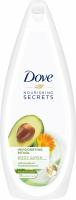 Dove - Nourishing Secrets - Invigorating Ritual Body Wash - Shower Gel - Avocado Oil & Calendula Extract - 750 ml