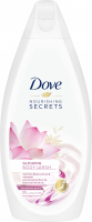 Dove - Nourishing Secrets - Gowing Ritual Body Wash - Shower Gel - Lotus Extract & Rice Water - 500 ml