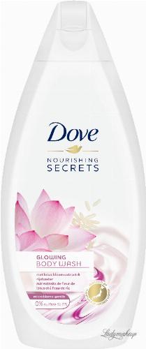Dove - Nourishing Secrets - Gowing Ritual Body Wash - Żel pod prysznic - Ekstrakt z Lotosu & Woda Ryżowa - 500 ml