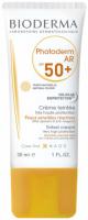 BIODERMA - Photoderm AR SPF 50+ Tinted Cream - Krem tonujący do skóry z problemami naczynkowymi - Natural Colour - 30 ml