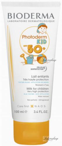 BIODERMA - Photoderm KID SPF 50+ Milk for Children - Waterproof, protective sun milk for children - 100 ml