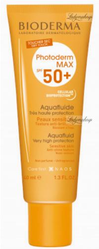 BIODERMA - Photoderm MAX Aquafluide SPF 50+ Waterproof ultra light facial fluid - Colorless - 40 ml