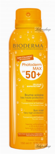 BIODERMA - Photoderm SPF 50 + Sun Mist Very High Protection - Waterproof protective mist for face and body - 150 ml