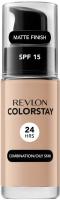 REVLON - COLORSTAY™ FOUNDATION - Podkład do cery tłustej i mieszanej - 30 ml - 250 - FRESH BEIGE - 250 - FRESH BEIGE