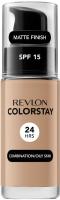 REVLON - COLORSTAY™ FOUNDATION - Podkład do cery tłustej i mieszanej - 30 ml - 330 - NATURAL TAN - 330 - NATURAL TAN