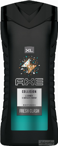 AXE - COLLISION Bodywash fresh clash - Shower gel for men - 400 ml