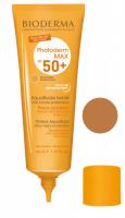BIODERMA Photoderm MAX Tinted Aquafluide SPF 50+ Waterproof ultra light face fluid - 40 ml - CIEMNY - CIEMNY