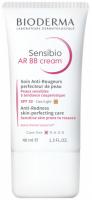 BIODERMA - Sensibio AR BB Cream - Krem BB do skóry z problemami naczynkowymi SPF 30 - Light - 40 ml