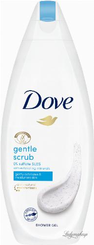 Dove - Gentle Exfoliating Shower Gel - Delikatnie złuszczający żel pod prysznic - 250 ml