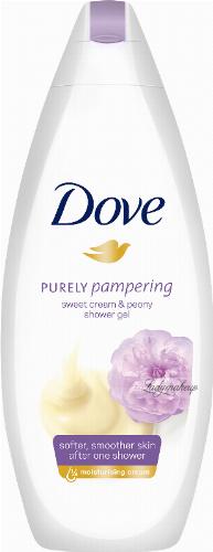 Dove - Purely Pampering Shower Gel - Żel pod prysznic - Słodki Krem & Piwonia - 250 ml