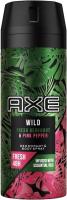 AX - WILD - DEODORANT & BODY SPRAY - Men's spray deodorant - Bergamot & Pink Pepper - 150 ml