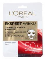 L'Oréal - AGE SPECIALIST FIRMING TISSUE MASK - Ujędrniająca maska do twarzy w płacie 50 +