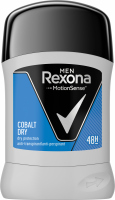 Rexona - Men - Cobalt Dry - Anti - perspirant 48H - Antiperspirant stick for men - 50 ml