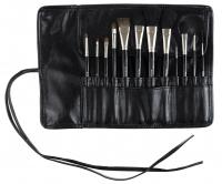 Kozłowski - Professional set of 12 make-up brushes - e710