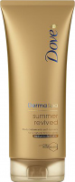 Dove - Derma Spa Summer Revived Body Lotion - Body lotion with self-tanning agent for medium and dark complexions - 200 ml