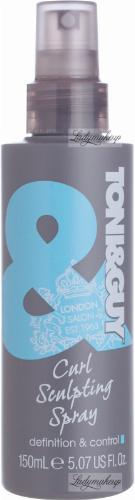 TONI&GUY - Curl Sculpting Spray - Żel w spray'u modelujący loki - 150 ml