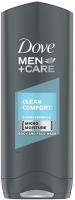 Dove - Men+Care - Clean Comfort - Body and Face Wash - Żel pod prysznic do mycia ciała i twarzy dla mężczyzn - 250 ml