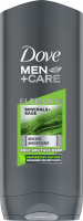 Dove - Men + Care - Elements - Minerals + Sage - Body and Face Wash - Body and face shower gel for men - 400 ml