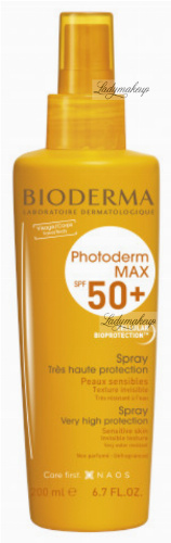 BIODERMA - Photoderm MAX SPF 50+ Spray - Waterproof protective spray - 200 ml