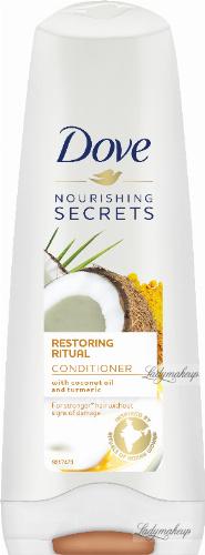 Dove - Nourishing Secrets - Restoring Ritual - Conditioner - Odżywka do włosów zniszczonych - Olej kokos i kurkuma - 200 ml