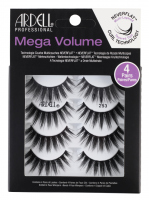 ARDELL - Mega Volume - 4 Pairs - Set of 4 pairs of lashes on a strip
