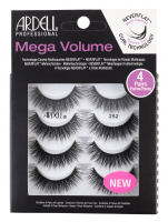 ARDELL - Mega Volume - 4 Pairs - Set of 4 pairs of lashes on a strip - 252 - 252