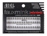 ARDELL - Faux Mink Individuals - Clusters of artificial eyelashes - SHORT BLACK - SHORT BLACK