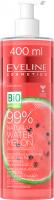 Eveline Cosmetics - 99% Natural Water Melon - Moisturizing & Soothing Body and Face Hydrogel - Nawilżająco-kojący arbuzowy hydrożel do ciała i twarzy - 400 ml