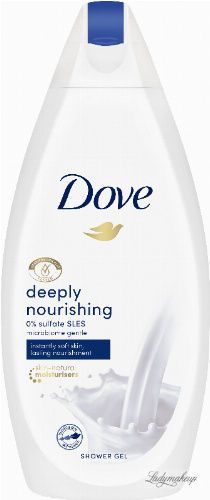 Dove - Deeply Nourishing Shower Gel - Odżywczy żel pod prysznic - 500 ml