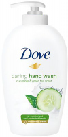 Dove - Caring Hand Wash - Liquid hand soap with Cucumber and Green Tea - 250 ml