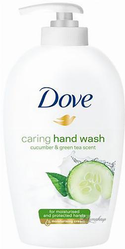 Dove - Caring Hand Wash - Mydło do rąk w płynie z Ogórkiem i Zieloną Herbatą - 250 ml