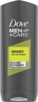 Dove - Men+Care - Sport Active + Fresh - Body and Face Wash - Żel pod prysznic do mycia twarzy i ciała dla mężczyzn - 250 ml