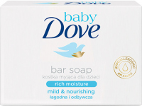 Dove - Baby - Baby Bar Rich Moisture - Nawilżające mydło w kostce dla dzieci - 75 g