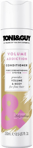 TONI & GUY - VOLUME ADDICTION CONDITIONER - Conditioner for fine and delicate hair - 250 ml