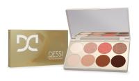 DESSI - Eyeshadow Palette - Eye shadow palette - 01 Bright Brown