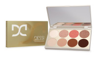 DESSI - Eyeshadow Palette - Paleta cieni do powiek - 01 Bright Brown