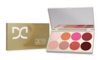 DESSI - Eyeshadow Palette - Paleta cieni do powiek - 02 Posh Pink