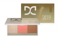 DESSI - Glow & Contour Palette - Paleta do konturowania i rozświetlenia - 01 Light