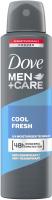Dove - Men + Care Cool Fresh 48H Anti-Perspirant - Aerosol antiperspirant for men - 150 ml