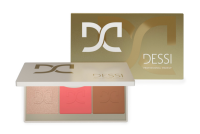 DESSI - Glow & Contour Palette - Paleta do konturowania i rozświetlenia - 02 Tan