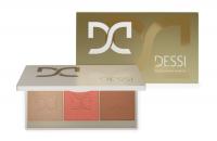 DESSI - Glow & Contour Palette - Paleta do konturowania i rozświetlenia - 03 Flame