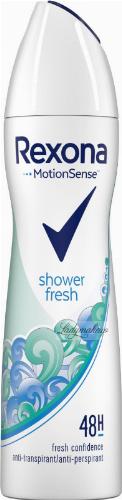 Rexona - Shower Fresh 48H Anti-Perspirant - Antyperspirant w aerozolu - 150 ml